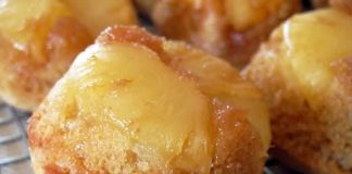 Muffins aux ananas sans beurre au thermomix
