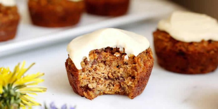 Muffins aux carottes au thermomix