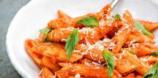 Pâtes à la tomate au thermomix