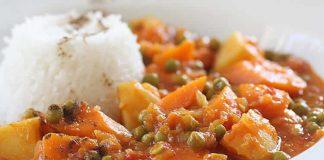 Petits pois aux carottes et pommes de terre cookeo