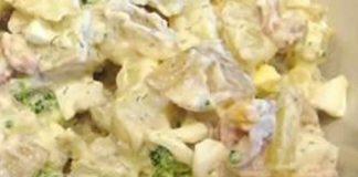 Pomme de terre au brocoli et fromage cookeo