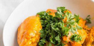 Poulet à la sauce safran cookeo