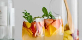 Sangria blanche au thermomix