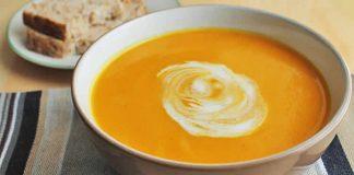 Soupe patate au curry au thermomix