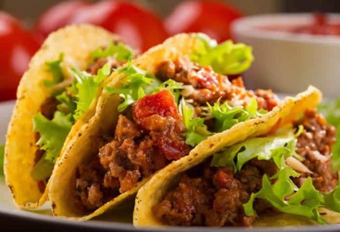 Tacos au boeuf cookeo