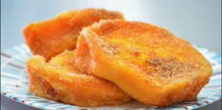 Torrijas - pain perdu à l'espagnol au thermomix