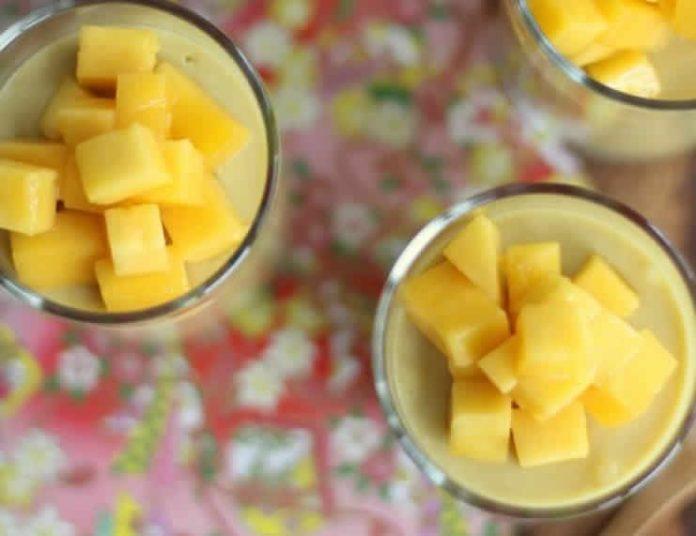 Yaourt mangue au thermomix