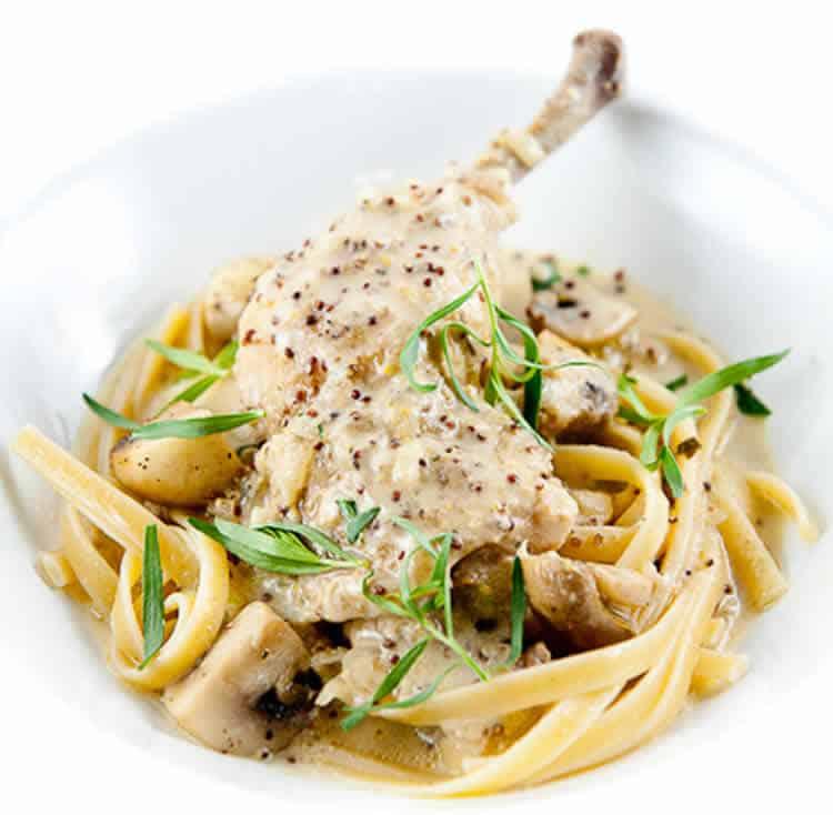 Cuisses de poulet estragon cookeo un d licieux plat avec le cookeo - Cuisiner des cuisses de poulet ...