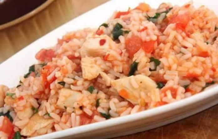 blanc de poulet et riz au carotte et petit pois cookeo