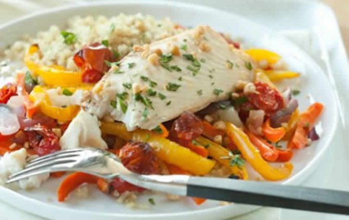 Cabillaud et légumes varoma au thermomix