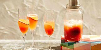 Cocktail Bellini au thermomix