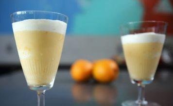 Cocktail orange et lait au thermomix