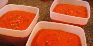 Coulis de tomates au thermomix