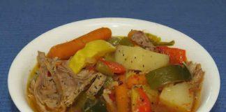 Cuisse de dinde aux légumes cookeo