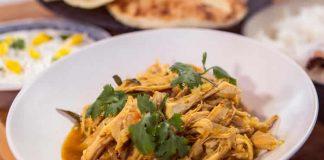 Escalopes de dinde au curry cookeo