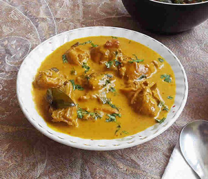Escalopes de poulet au lait de coco et curry cookeo
