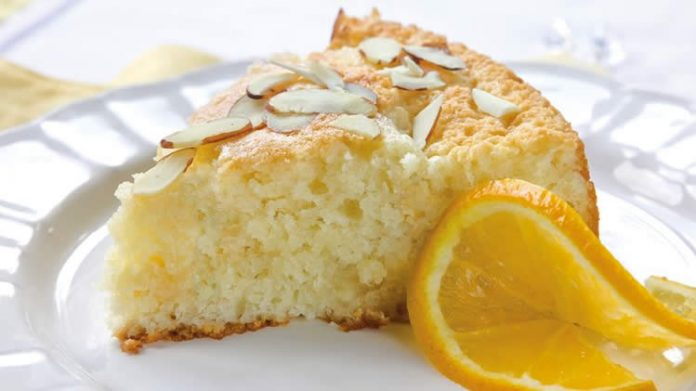 Gâteau à l'orange et amandes au thermomix