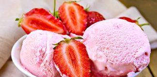 Glace fraise facile au thermomix une délicieuse glace à la fraise pour votre dessert, vous y trouvez ici la recette la plus facile pour le préparer chez vous avec votre thermomix. une recette facile et pour toute la famille, testez-la.
