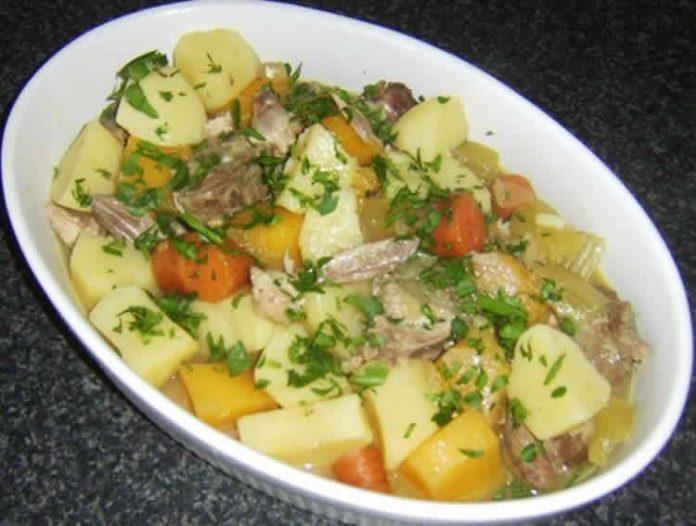Lapin aux légumes cookeo