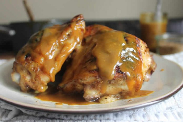 Poulet sauce moutarde cookeo
