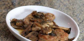 Rôti de porc aux champignons cookeo