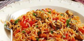 Risotto aux champignons et tomate cookeo