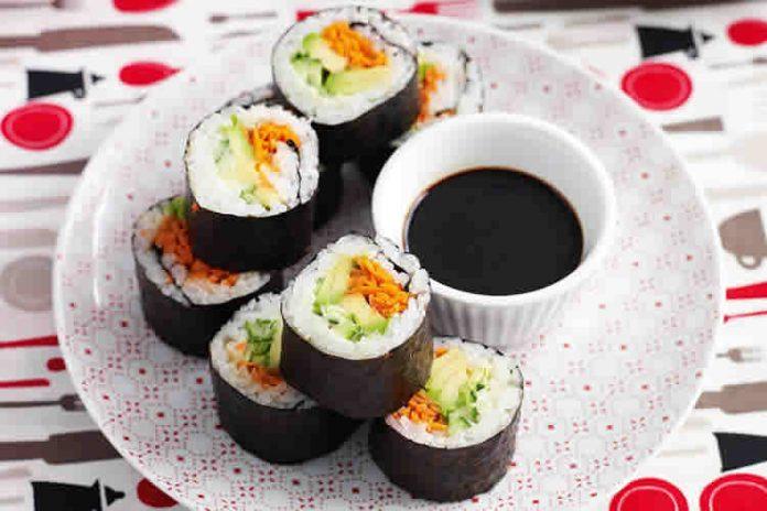Riz pour sushi au Cookeo