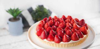 Tarte aux fraises thermomix TM5