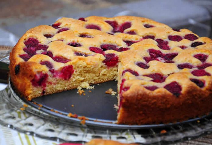 cake aux framboises au thermomix