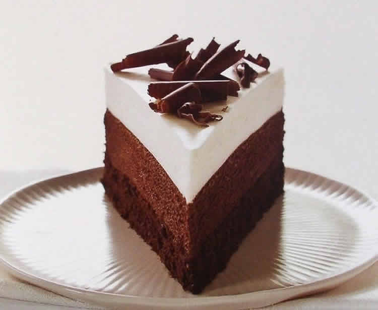 gateau au 2 chocolat noir et blanc recette de p tisserie. Black Bedroom Furniture Sets. Home Design Ideas