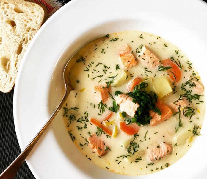 saumon au carotte et crème cookeo