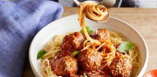 spaghettis et viande hachée avec moutarde cookeo