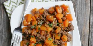 viande hachée aux carottes cookeo