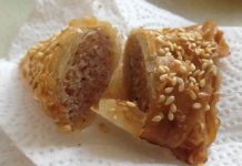 Briouates aux amandes et miel ftour ramadan