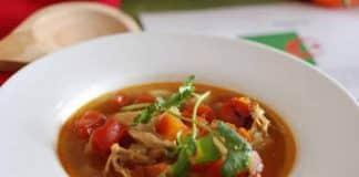 Chorba au poulet ftour ramadan