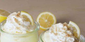 Crème au fromage et citron - dessert ftour ramadan