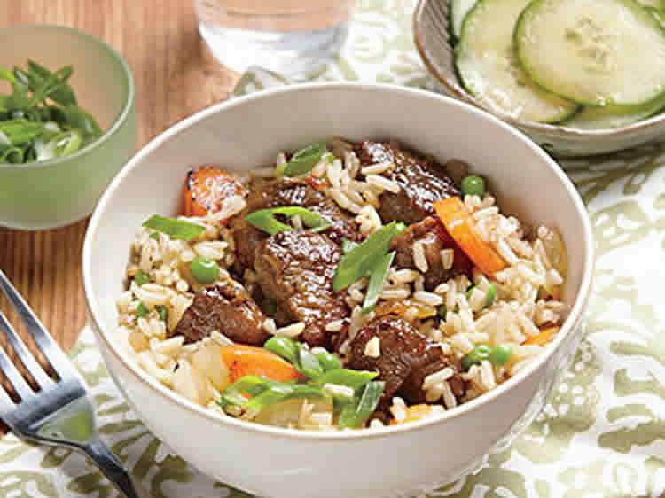 porc au riz basmati au cookeo recette diner cookeo facile. Black Bedroom Furniture Sets. Home Design Ideas