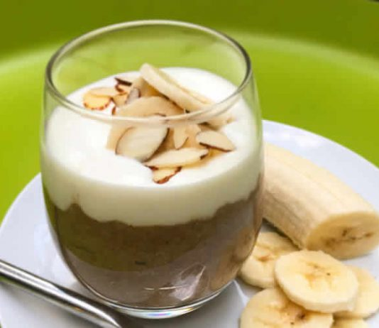 pudding aux graines de chia et cacao ftour ramadan