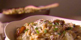 Risotto aux champignons et viande au cookeo