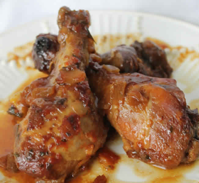 cuisses de Poulet à l'oignon au cookeo