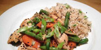 dinde haricots vert et carottes au cookeo