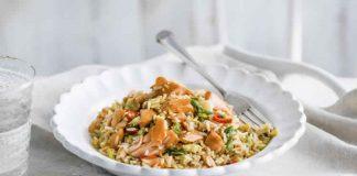 saumon et riz basmati au Cookeo