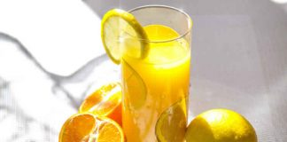 Cocktail orange citron au thermomix