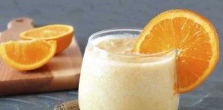 creme fleur oranger au cookeo