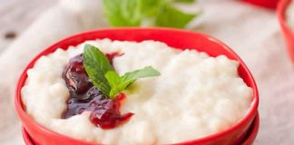dessert riz au lait avec cookeo