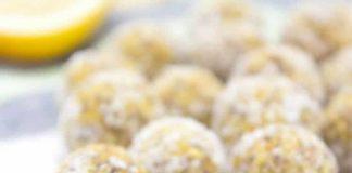 Boules au citron avec thermomix