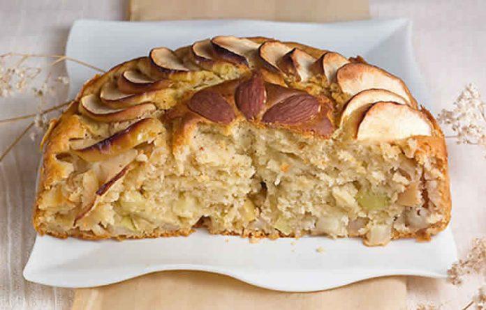 cake aux pommes et au miel avec thermomix recette thermomix. Black Bedroom Furniture Sets. Home Design Ideas