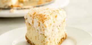 Cheesecake au noix de coco facile