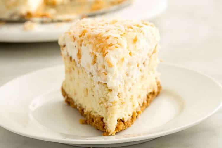 Cheesecake au noix de coco facile - recette gateau dessert.
