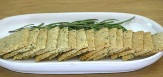 Crackers apéritifs aux graines avec thermomix